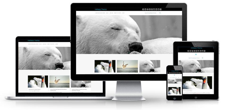 Responsive Inkness Theme