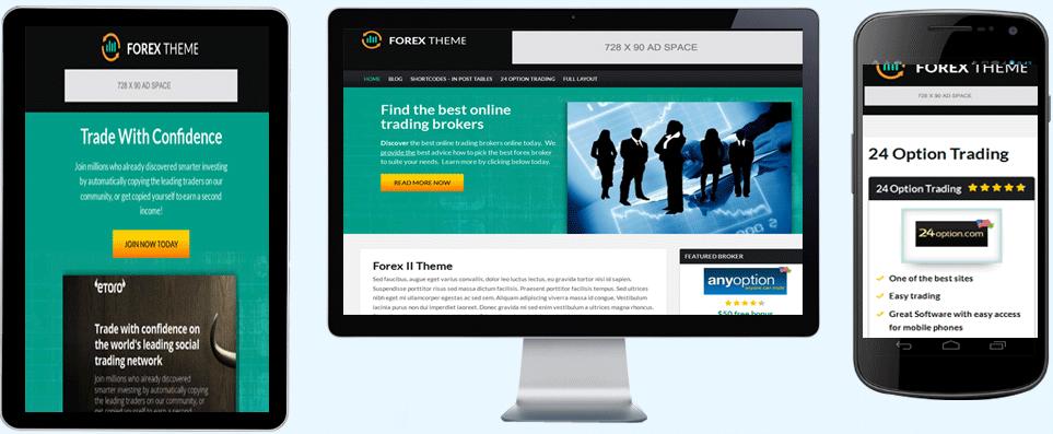 Forex blog theme